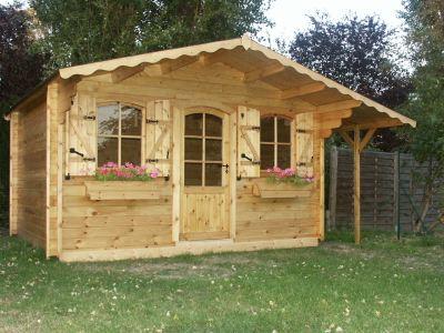 Abris de jardin bois for Abri de jardin en bois sans entretien