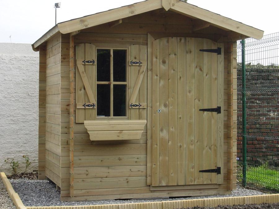 Vente abri jardin bois autoclave – Prix abris de jardin en bois