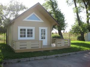 chalet bois mezzanine sans permis construction. Black Bedroom Furniture Sets. Home Design Ideas