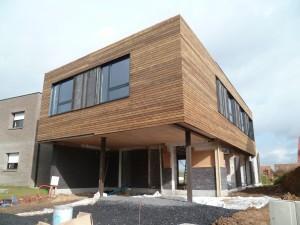 extension en bois contemporaine