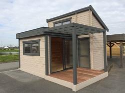 Studio ou bureau de jardin sans permis de construire