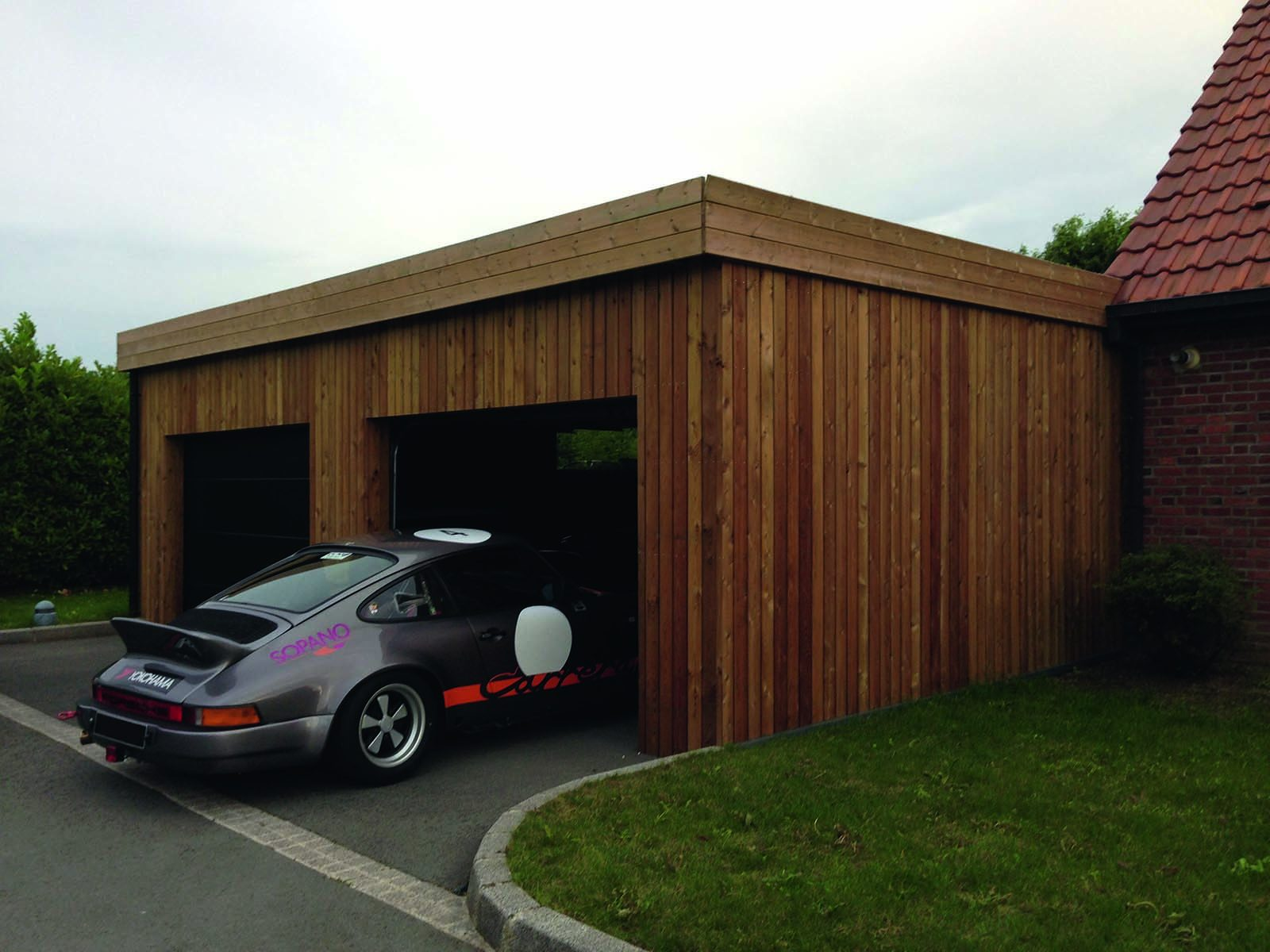 Construction garage bois sur mesure devis prix for Budget pour construction garage