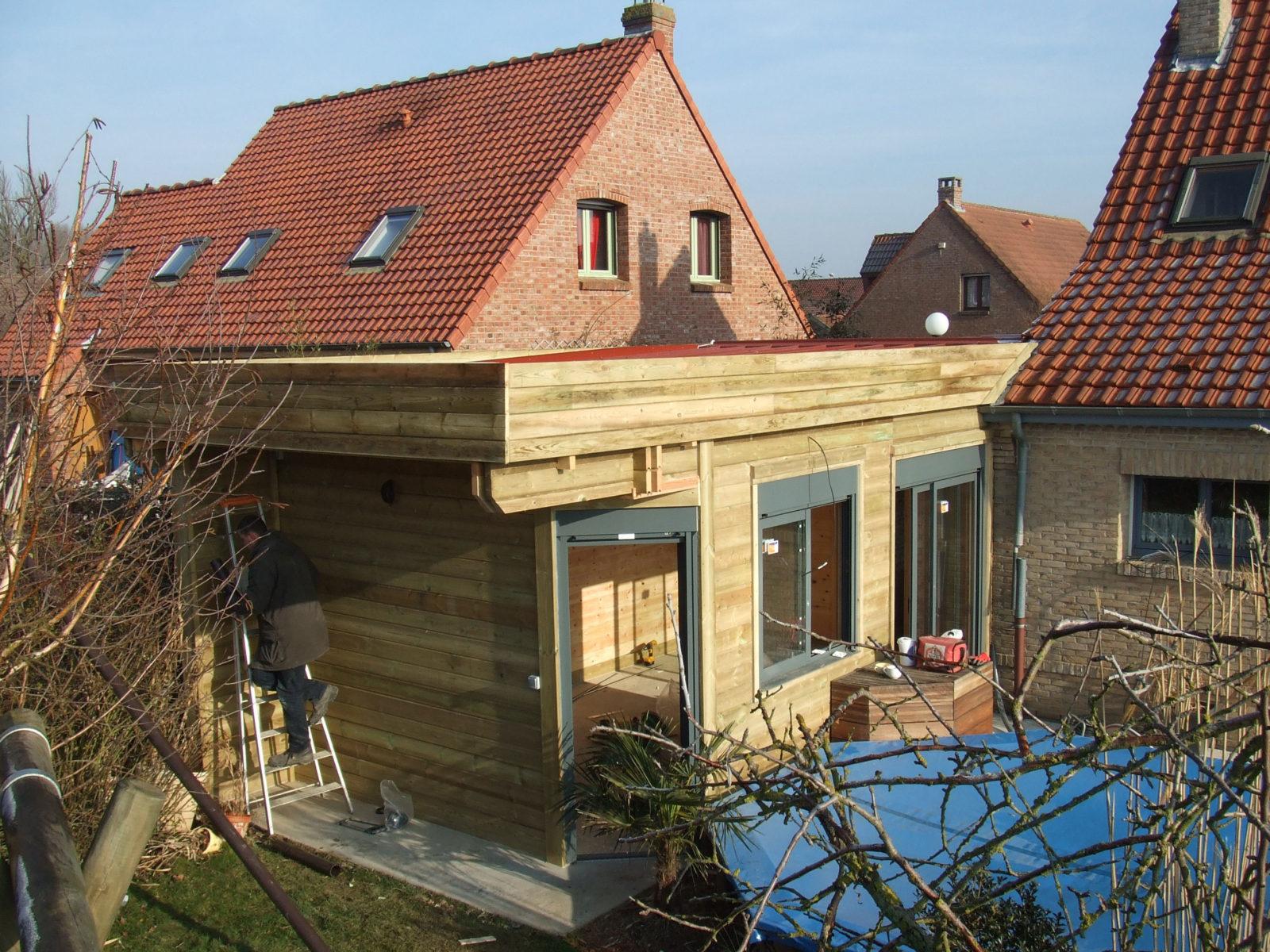Les spécialistes de l'extension boisée avec toit terrasse