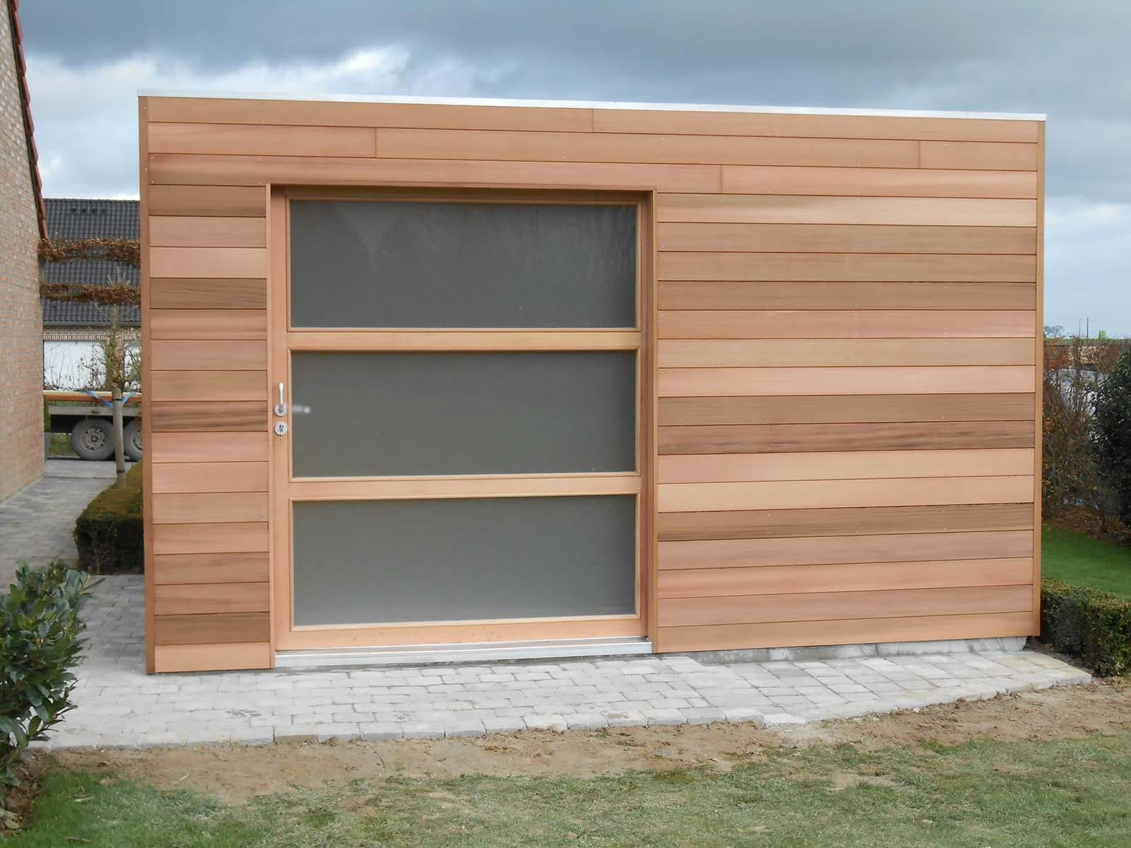 fabricant abri de jardin moderne quadro abri toit plat. Black Bedroom Furniture Sets. Home Design Ideas