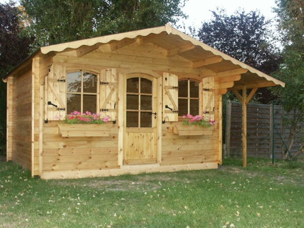 Destombes bois abri de jardin abris en bois garage - Chauffer un garage non isole ...