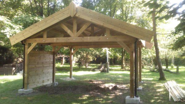 destombes bois abri de jardin bois garage carport terrasse. Black Bedroom Furniture Sets. Home Design Ideas