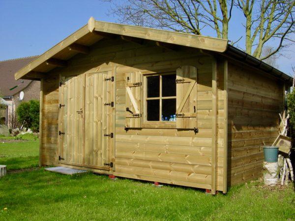 Bien choisir mon abri de jardin en bois