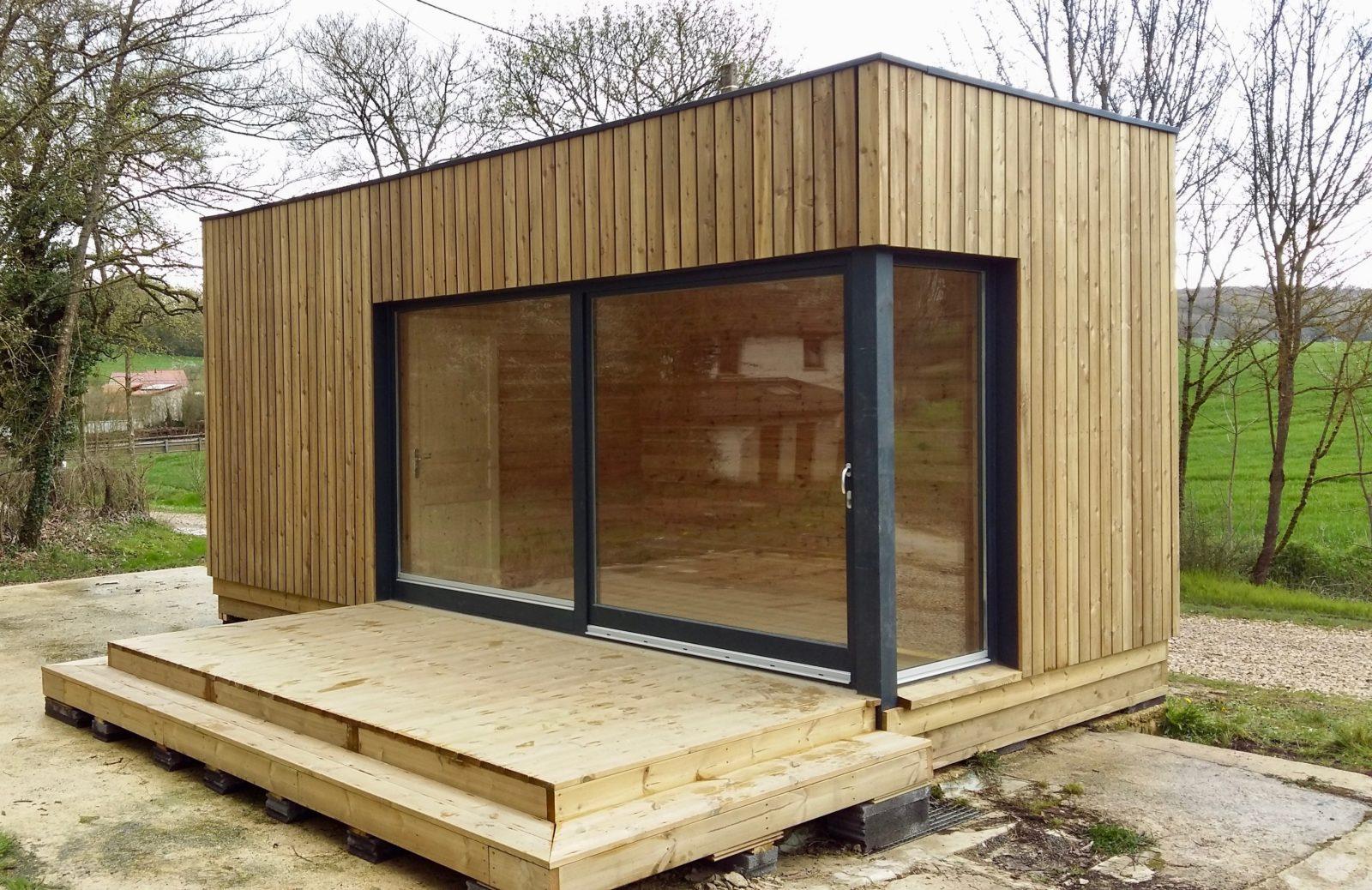 studio de jardin 300 X 660 ossature