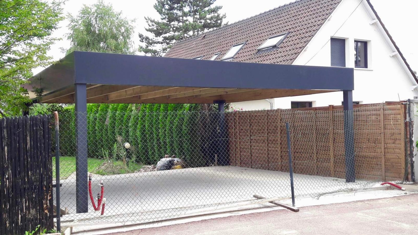 carport 600 X 610 alu