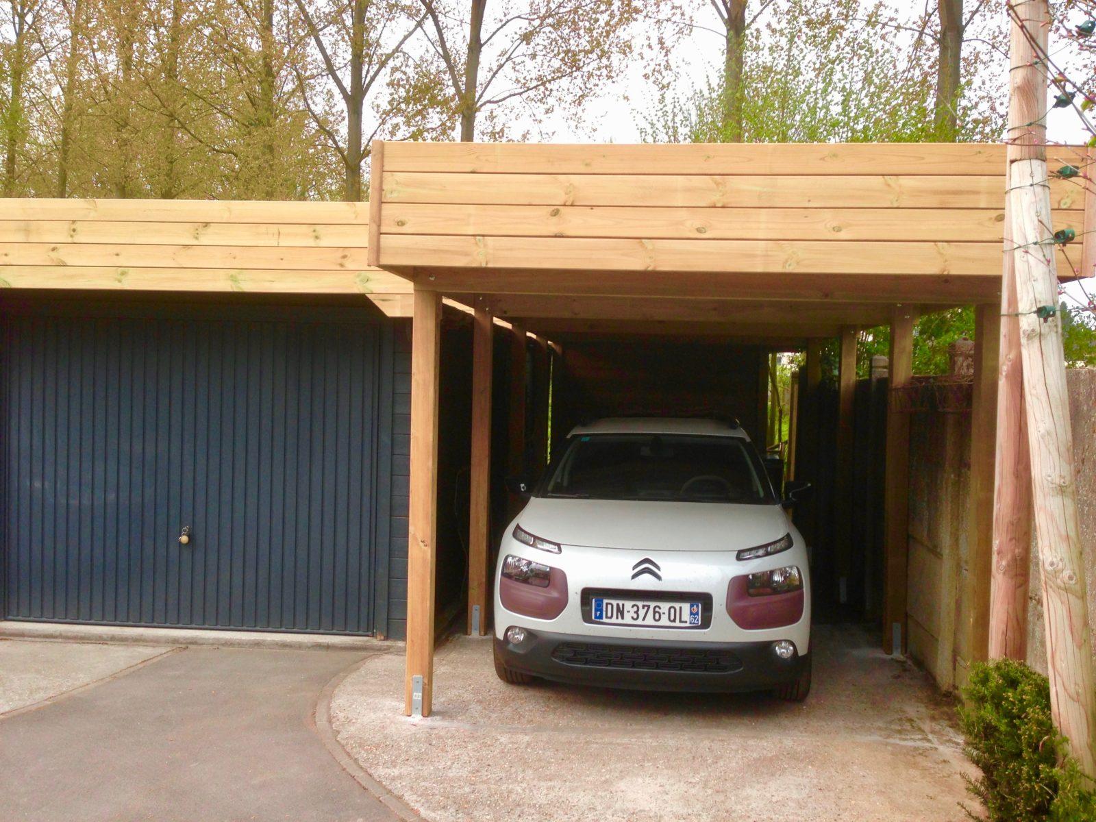 Comment différencier un garage et un carport?