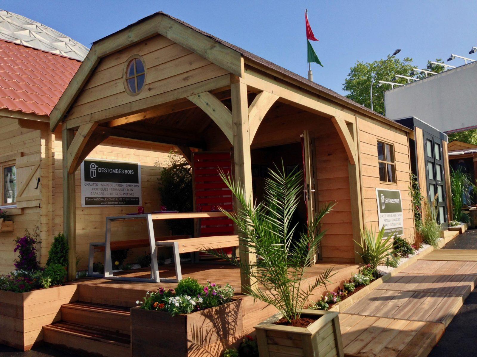 Abris de jardin cottage 350 X 500