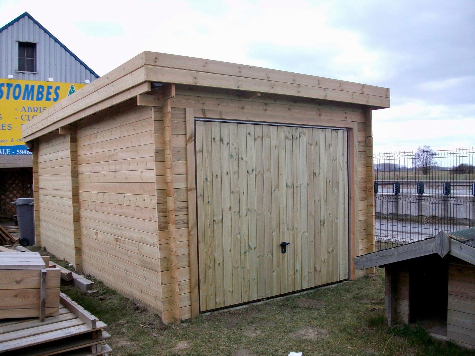 garage 300 X 600 toit plat