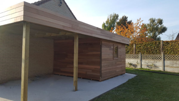 Vente Abri de jardin en bois & Garage en bois pas cher