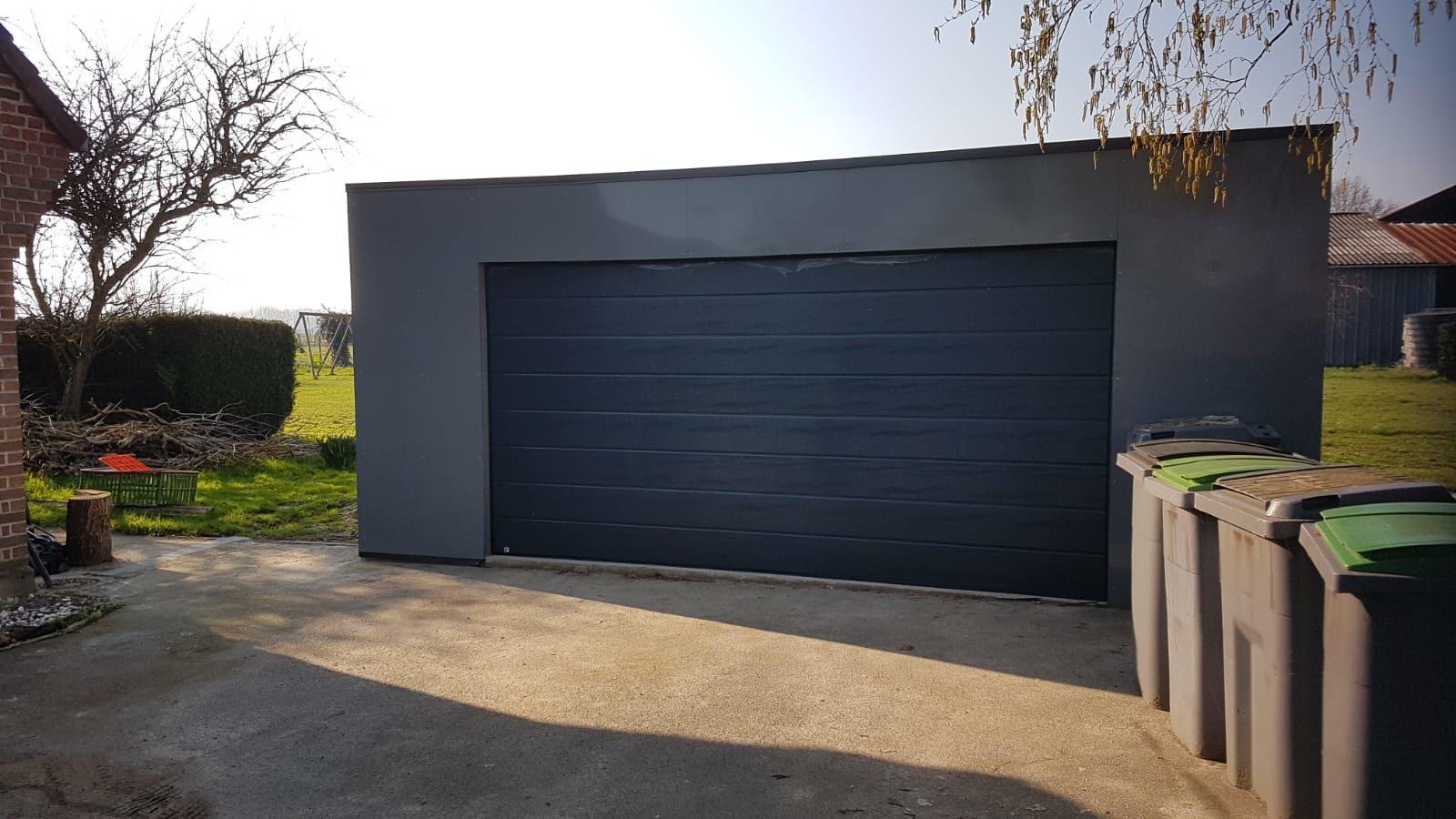 Garage en aluminium 6×6