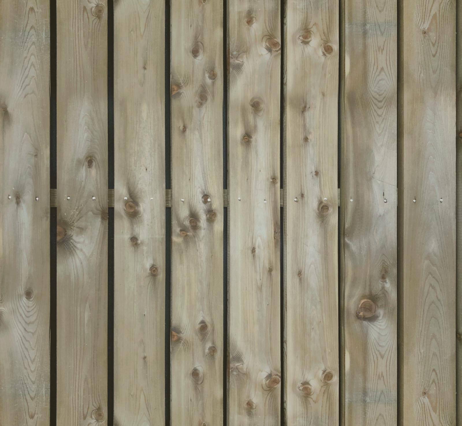 Bardage bois en mélèze autoclave biseauté