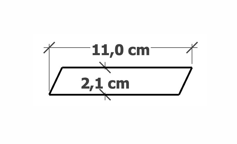 Lame de Bardage | 21x110mm Bizauté Mélèze