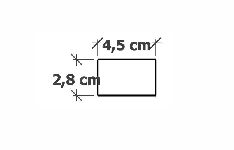 Lame de Bardage Ajouré | 28x45mm Douglas Noir