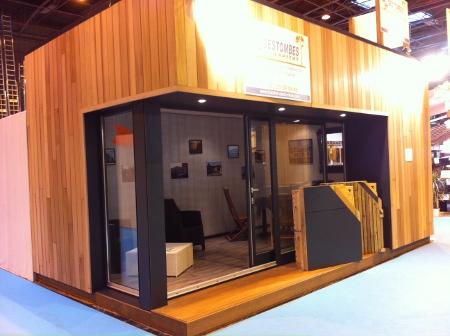 maison bois 20m2 ventana blog. Black Bedroom Furniture Sets. Home Design Ideas